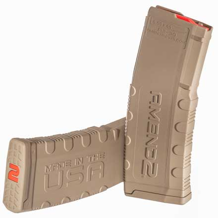 Amend2 Ar-15 Mod-2 Flat Dark Earth FDE Magazine 30 Rounds