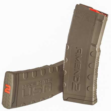 Amend2 Ar-15 Mod-2 OD Green Magazine 30 Rounds