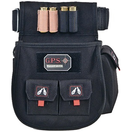Deluxe Shell Pouch with Twin Pouches & Web Belt Black