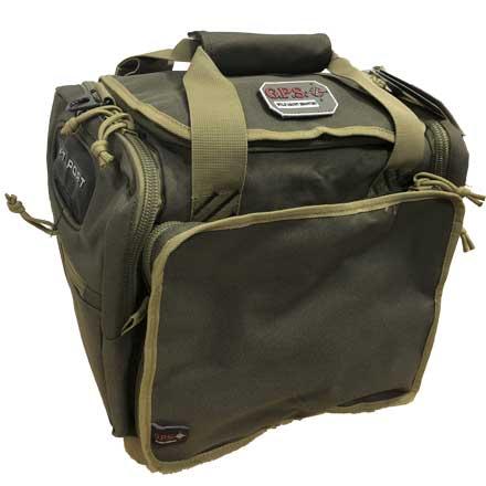 Medium Range Bag with Lift Ports & 2 Ammo Dump Cups Rifle Green/Khaki