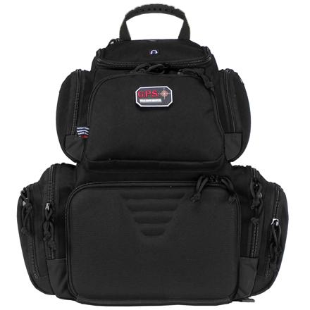 Handgunner Backpack with Cradle for 4 Handguns Black