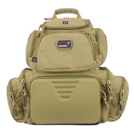 Handgunner Backpack with Cradle for 4 Handguns Tan