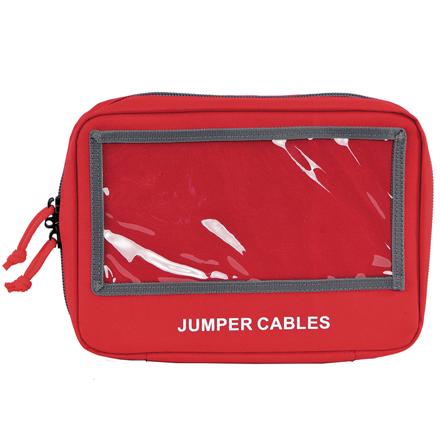 Jumper Cables Pistol Storage Case Red