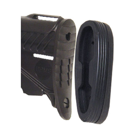 AR-15 Snap on Recoil Pad For 6 Position Tactical Stocks