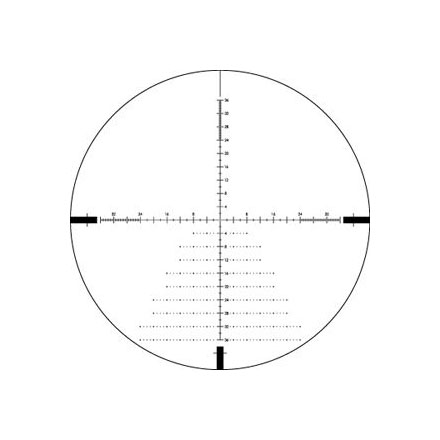 Diamondback Tactical 4-16x44 First Focal Plane MOA Reticle
