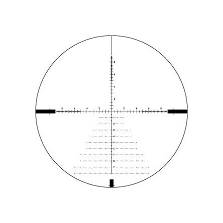 Diamondback Tactical 6-24x50 First Focal Plane MRAD Reticle