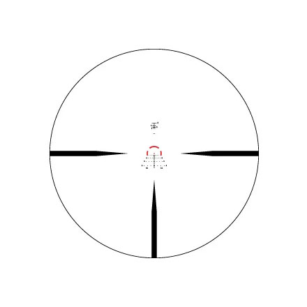 Strike Eagle 1-6x24mm With Illuminated AR-BDC3 Reticle 30mm Tube