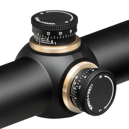 Viper HS 2.5-10x44mm BDC Reticle SFP (MOA) 30mm Tube