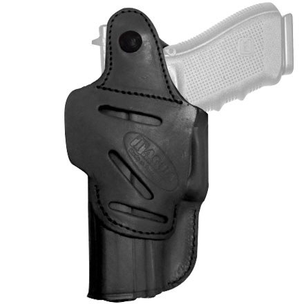 Glock 43-9mm. Black / Right Hand 4-in-1 Holster with Thumb Break