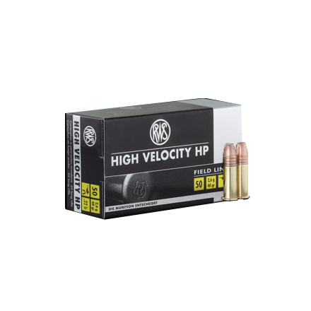 RWS .22 LR (Long Rifle) High Velocity Ammo Hollow Point 40 Grain 50 Rounds