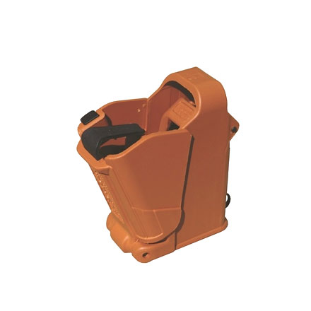 Maglula Universal Pistol Mag Loader 9 - 45  Black and Orange
