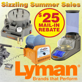 $25 Mail-in Rebate on select Lyman Products