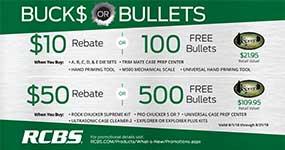 RCBS Bucks or Bullets 2018