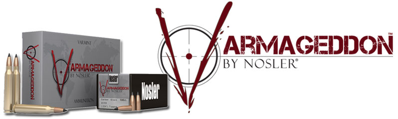 Nosler Varmageddon Ammunition and Bullets