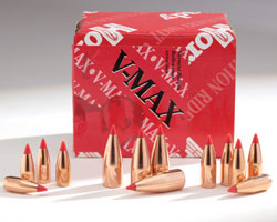 Hornady V-Max Bullets for reloading